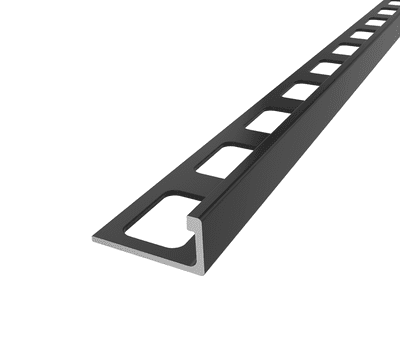 555-10BLACK ANODIZED ALUMINUM 3/8